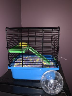 Hamster cage and ball for Sale in Kilgore, TX