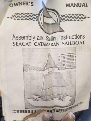 SeaCat portable catamaran sailboat for Sale in Collegeville, PA