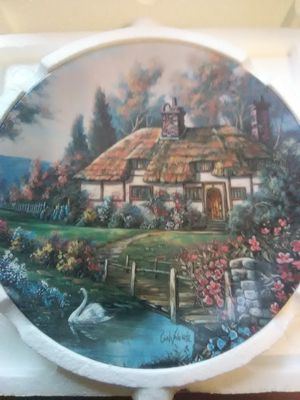 W.S. George Ceramic Collectible Plates (8) ( part 1) for Sale for sale  Ridgefield Park, NJ