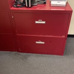 2 Shaw Walker 3 Drawer Fire Resistant File Cabinets for Sale in Tustin,  CA