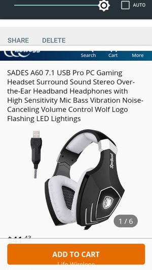 Gaming headphones with mic for Sale in CA, US
