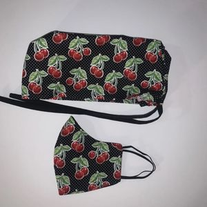 Cherries Face Mask And Nurse Hat for Sale in Bell Gardens, CA