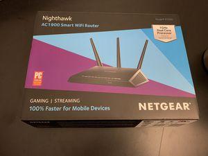 Netgear Nighthawk AC1900 WiFi Router Used for Sale in Henderson, NV