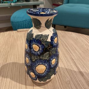 Polish Pottery Flower Vase for Sale in Coto de Caza, CA