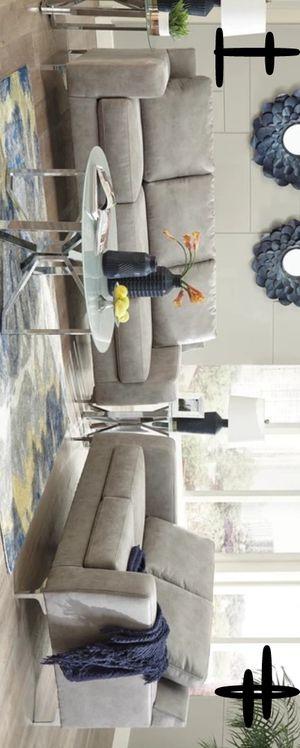 New Brand and Best Offer Ryler Steel Living Room Set | 40201 # for Sale in Houston, TX