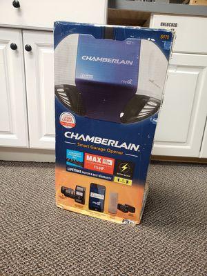New - Chamberlain B970 - Smart Belt Drive Garage Door Opener for Sale in Massapequa, NY