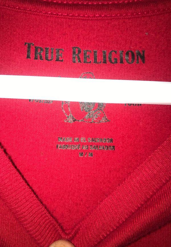 TRUE RELIGION TSHIRT SIZE MEDIUM