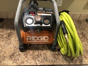 RIDGID 18-Volt Cordless Brushless 1 Gal. Portable Air Compressor for Sale in Vancouver, WA