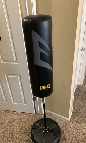 •EVERLAST Punching Bag• Barely Used!!! for Sale in Tyler, TX