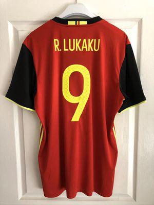 Adidas Belgium Lukaku Soccer Jersey for Sale in Austin, TX