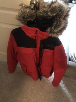 The north face coat, men's small, red/black for Sale in Fairfax, VA