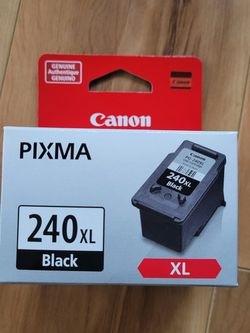 Brand New Genuine Canon 240 XL Black for Sale in Columbus,  OH