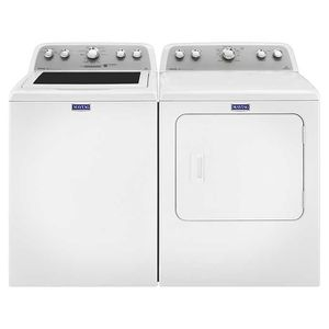 Maytag Top-Load Gas Laundry Suite 4.3CuFt Washer and 7.0CuFt Dryer in White for Sale in Honolulu, HI