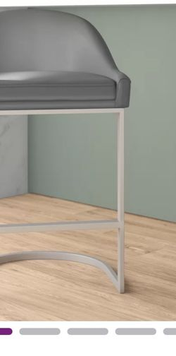 Darion Bar stool Brand New Gray for Sale in Columbia,  MD
