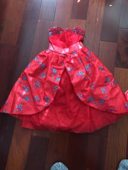 Elena of Avelar Costume Toddler 3T - used good condition for Sale in Concord,  CA