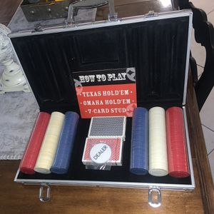 New High Quality Poker Set for Sale in Marlboro Township, NJ