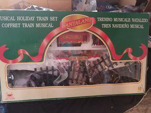 Santaland big train set for Sale in Prineville, OR