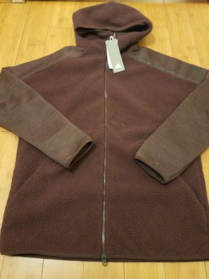 Sherpa Adidas hoodie Jacket size M for Men for Sale in Paramount, CA