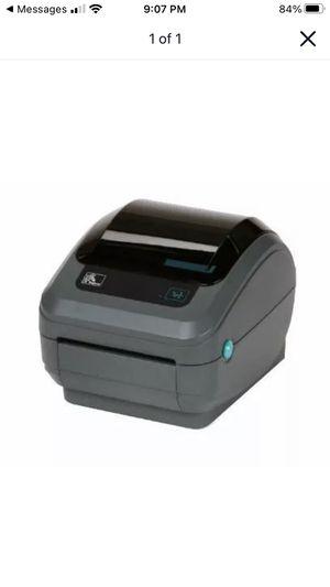 Zebra ZP 450 CTP Label Printer for Sale in Old Bridge Township, NJ