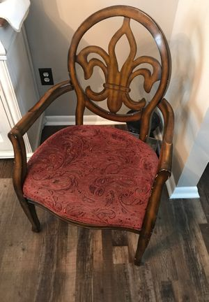 Wingback chairs- set of 2, wear and tear but overall very solid for Sale in Morrisville, PA