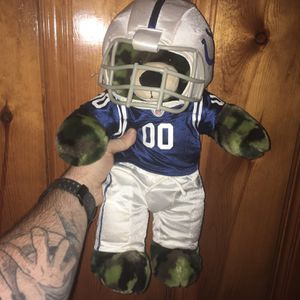 """""""Camouflage Cammo"""" Colts Bear - Build-A-Bear for Sale in Griffith, IN"""