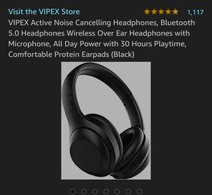 Bluetooth noise canceling headphones for Sale in Avondale, AZ