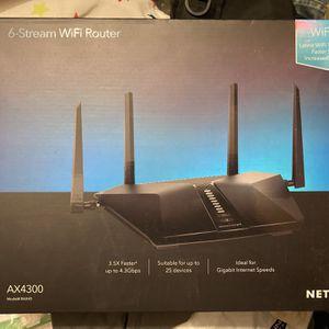 Netgear Nighthawk AX6 6-Stream AX4300 Wifi6 Router for Sale in Brooklyn, NY