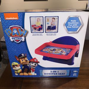 Paw Patrol 3-in-1 booster seat for Sale in Smyrna, GA