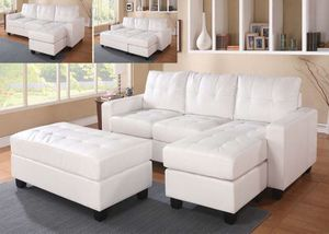 SECTIONAL SOFA OTTOMAN for Sale in Tampa, FL