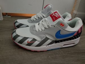 For sale PARRA X NIKE AIR MAX 1 BLANCAS/PURE PLATINUM. Size 11. No change. Firm price for Sale in Miami Gardens, FL