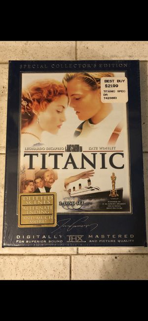 The Titanic Special Collectors Edition for Sale in Los Angeles, CA