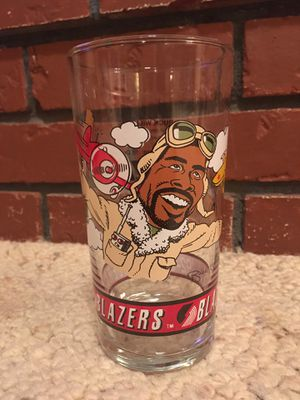 Trailblazers Buck Williams '92-'93 Dairy Queen Collectable Glass for Sale in Vancouver, WA