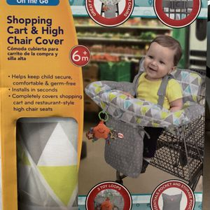 Nuby Shopping Cart & Highchair Cover for Sale in Staten Island, NY