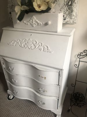 Antique Secretary Dresser Claw and Ball feet on front! for Sale in Great Falls, VA