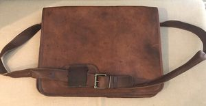 Leather Messenger Bag for Sale in Alexandria, VA