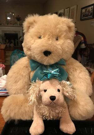 Adorable big fluffy stuffed animal soft Teddy Bear for Sale in Gainesville, VA