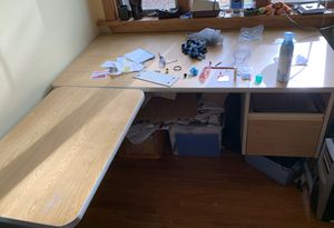 Corner Desk with top organizer for Sale in Wexford, PA