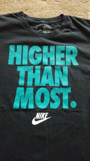 The rare discontinued Nike Higher Than Most T-shirt Mens Large. Hard to find it in this color. for Sale in Spring, TX