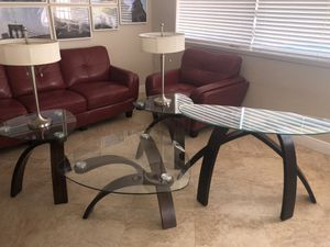 4 Pc Jace Table set: 1 Coffee Table, 1 Console Table, 2 Side Tables for Sale in Miami, FL
