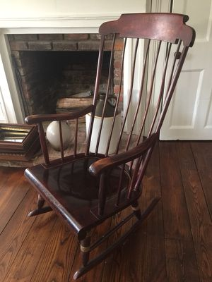 Nichols & Stone Boston Rocker rocking chair - Antique New England treasure. for Sale in Austin, TX