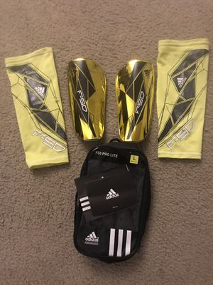 Adidas F50 pro Lite shin guards for Sale in Pittsburg, KS