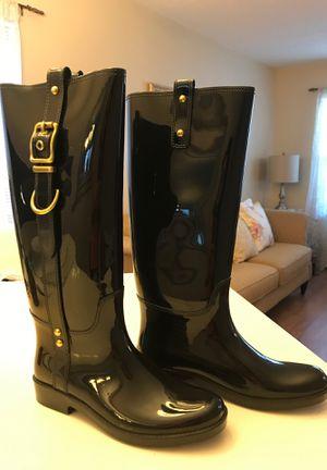 Coach Rain Boots Size 8 for Sale in Dallas, TX