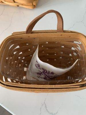 LONGABERGER small basket for Sale in New Albany, OH
