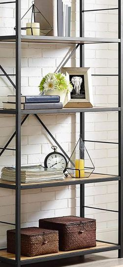 HumbleNest Countryside 60 in. Rustic Media Bookcase for Sale in Las Vegas,  NV