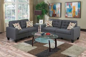 2 PCS Madison Sofa and Loveseat - available in 2 colors $449.00. Super sale! Free delivery 🚚 for Sale in Ontario, CA