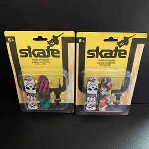 Skate Fingerboards 2-pack Finger Skateboards - Fingerboard - New x2 for Sale in San Jose, CA