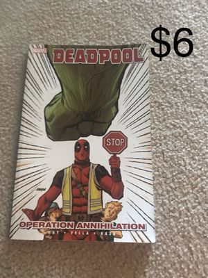 MARVEL ASSORTED COMICS NEW CONDITION. DEADPOOL, WOLVERINE, SPIDER-MAN, GAMBIT, AND ROBOCOP for Sale in Lexington, KY