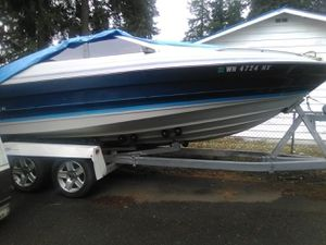 21' bayliner, great boat with new performance 351 w for Sale in Arlington, WA