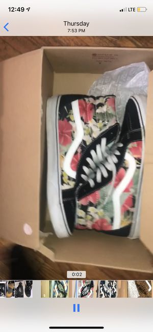 10 pairs of vans for Sale in Rochester, NY