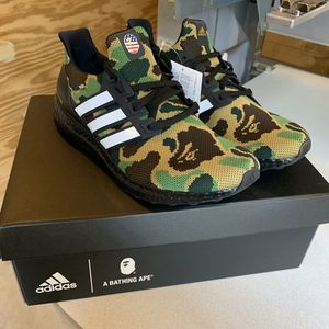 Adidas bape collaboration ultra boost size 9 for Sale in Austin, TX